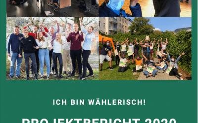 """Der Projektbericht zu """"Ich bin wählerisch!"""" 2020"""